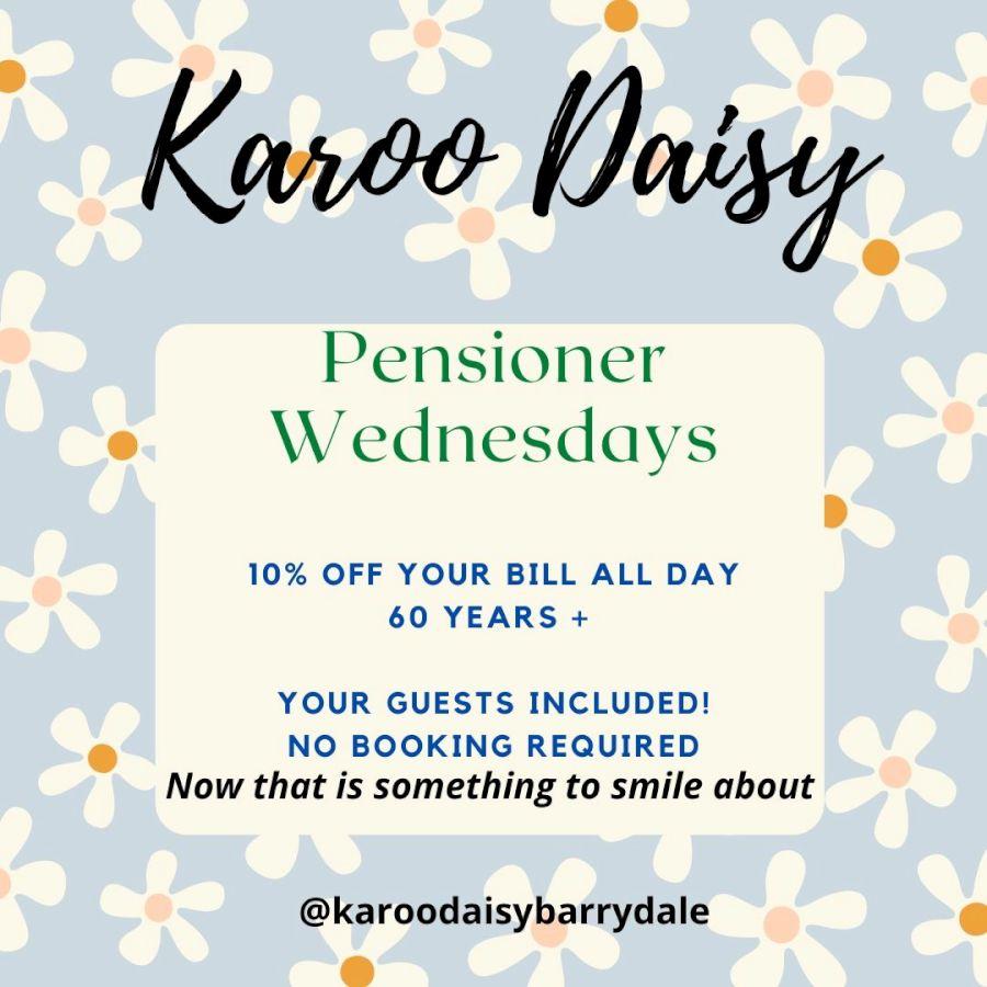 Events - Pensioner Wednesdays-H900